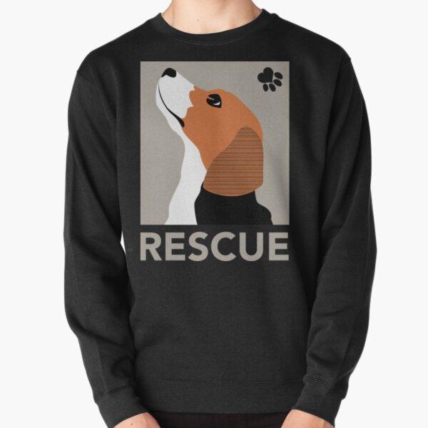 Rescue (Beagle) Pullover Sweatshirt