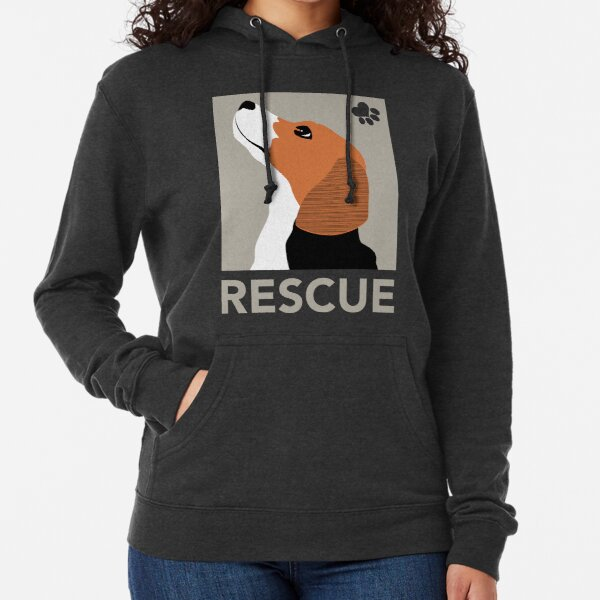 Rescue (Beagle) Lightweight Hoodie