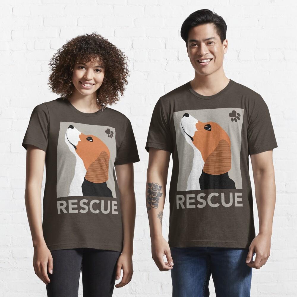 Rescue (Beagle) Essential T-Shirt