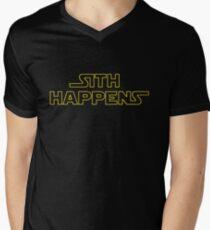Sith Happens - Star Wars Men's V-Neck T-Shirt