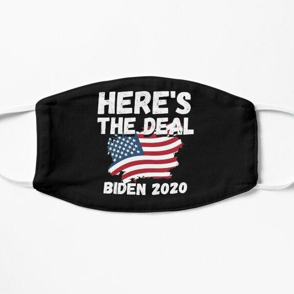 Here's the deal T-shirt, Joe Biden Harris Shirt, USA election 2020 Shirt Flat Mask