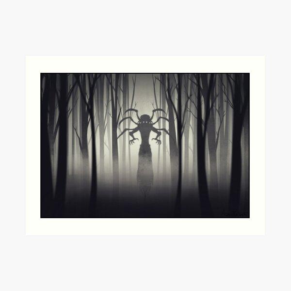 Fear Demon Art Print