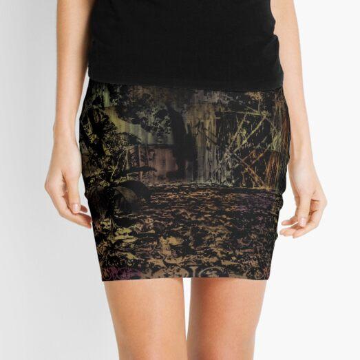 Forest garden Color Inversion 5 Mini Skirt