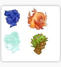 Element people (All four)  Sticker