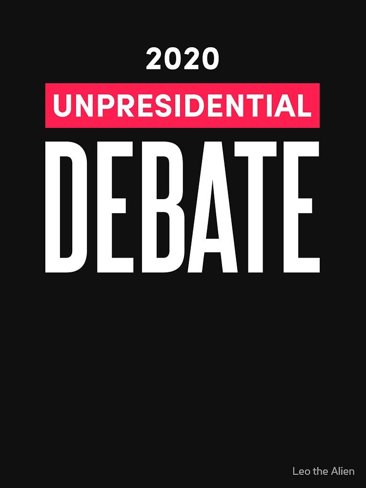 2020 Unpresidential Debate by alienyrox