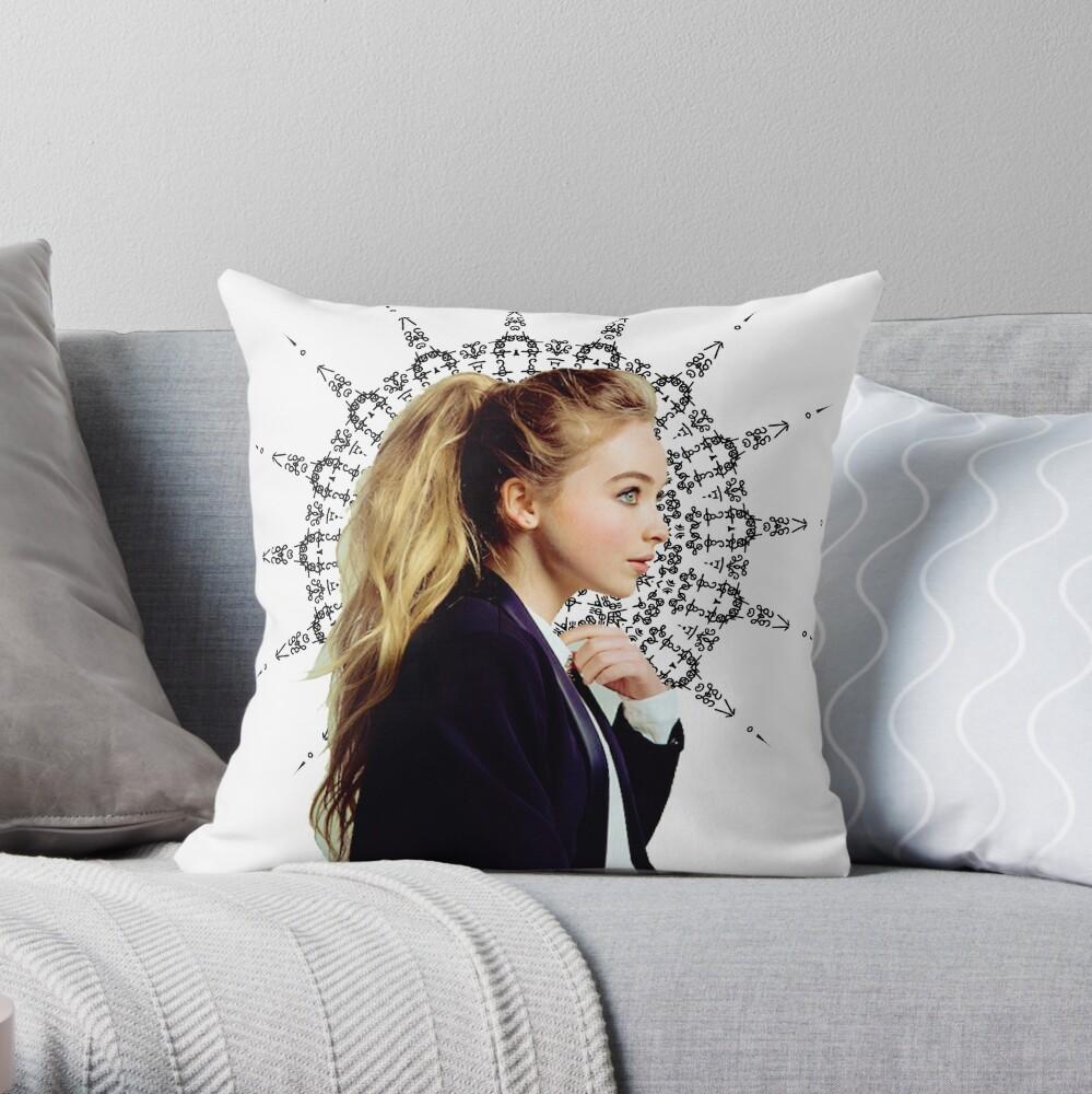 Sabrina Carpenter Throw Pillow