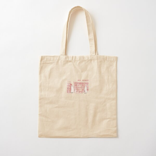 Two Ghosts in a Convenience Store Cotton Tote Bag