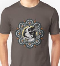 mandala boston terrier Unisex T-Shirt