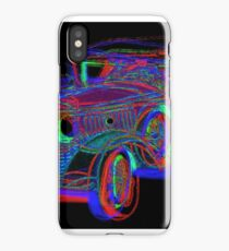 Neon 1930 Cadillac iPhone Case