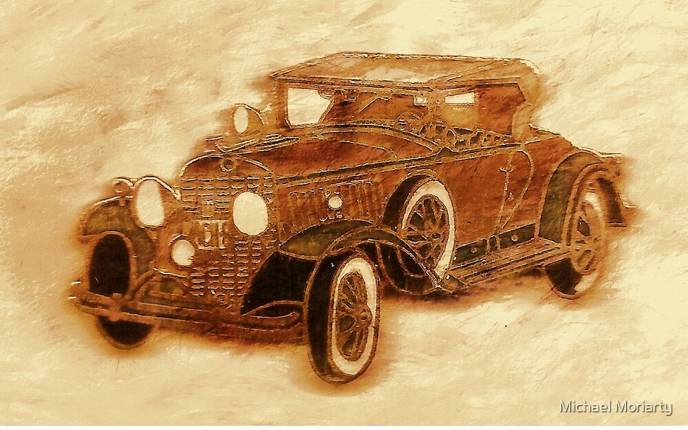 1930 Cadillac by Michael Moriarty