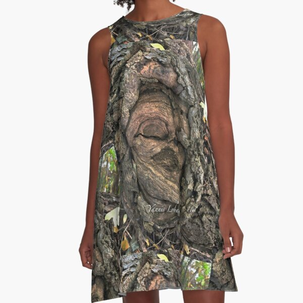 Female spirit an oak By Yannis Lobaina  A-Line Dress