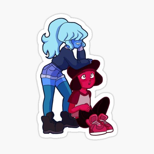 ruby & saphhy Sticker