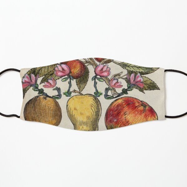 Crazy Fruit And Blooms Kids Mask