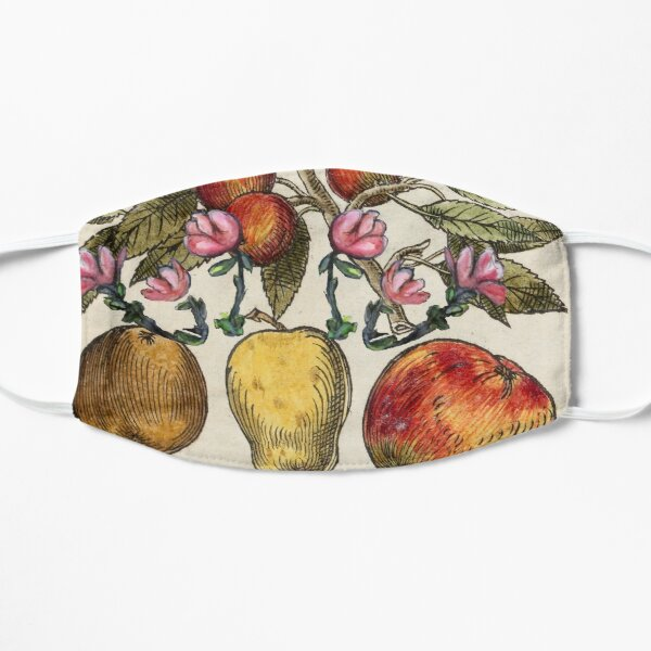 Crazy Fruit And Blooms Small Mask