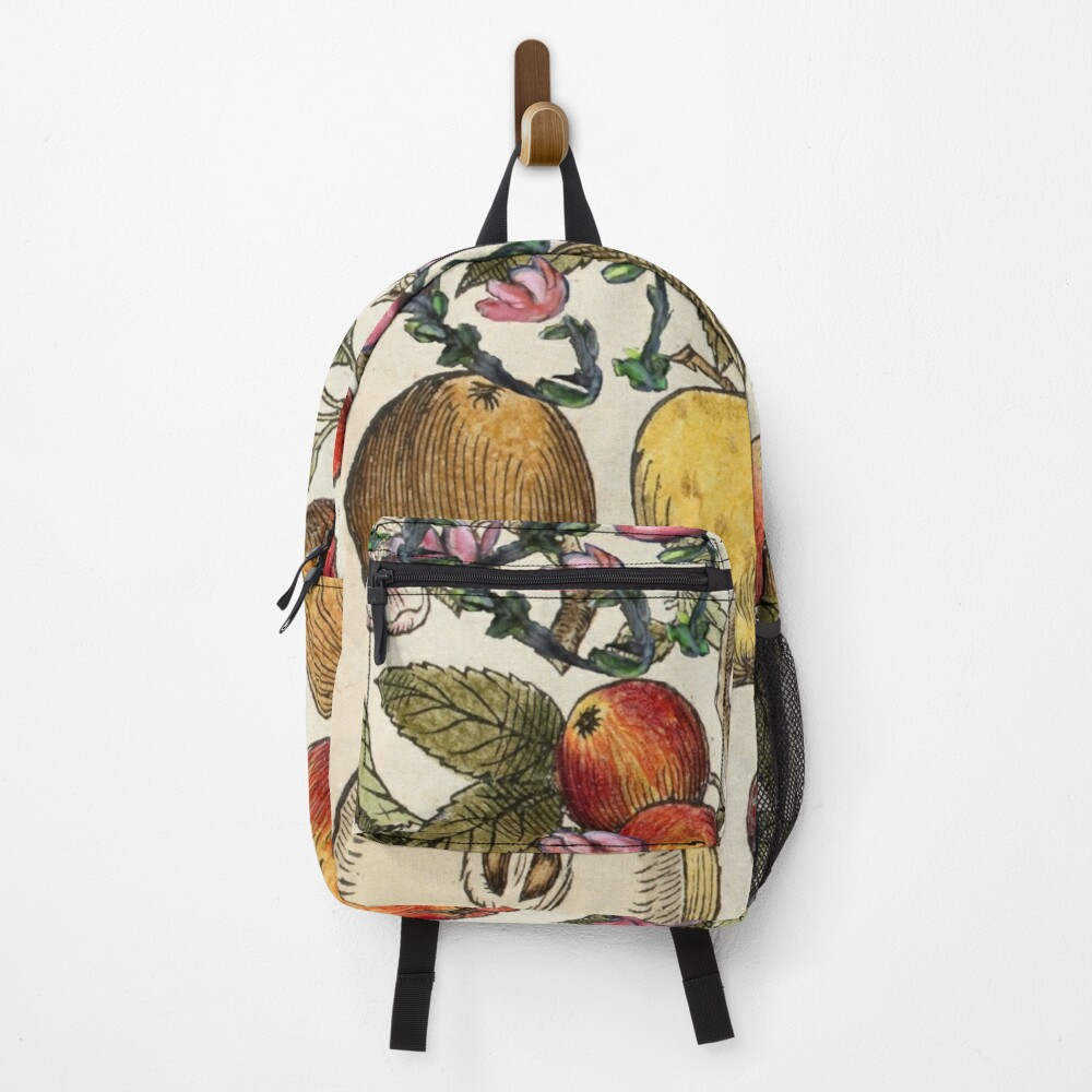 Crazy Fruit And Blooms Backpack