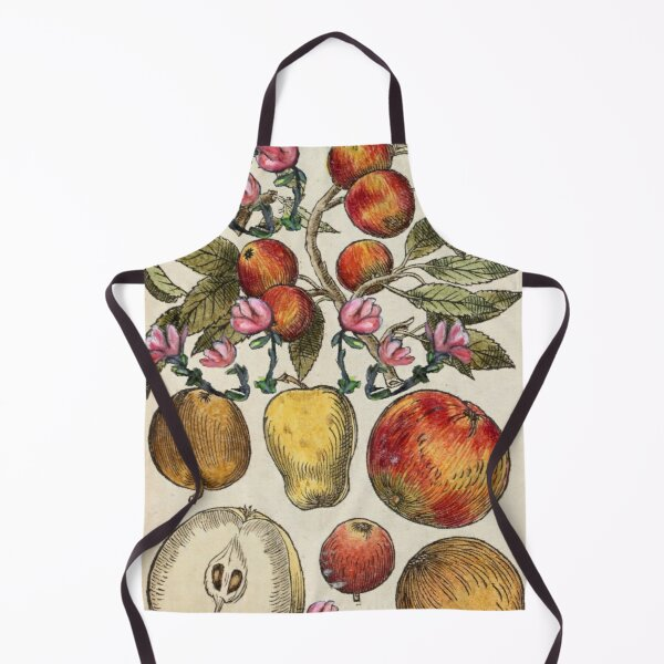 Crazy Fruit And Blooms Apron