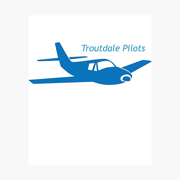 Troutdale Pilots Low Wing Photographic Print