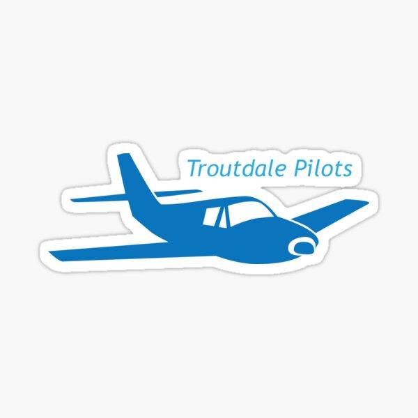 Troutdale Pilots Low Wing Sticker