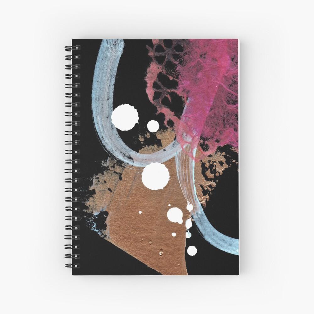 Pink Shadow II Spiral Notebook