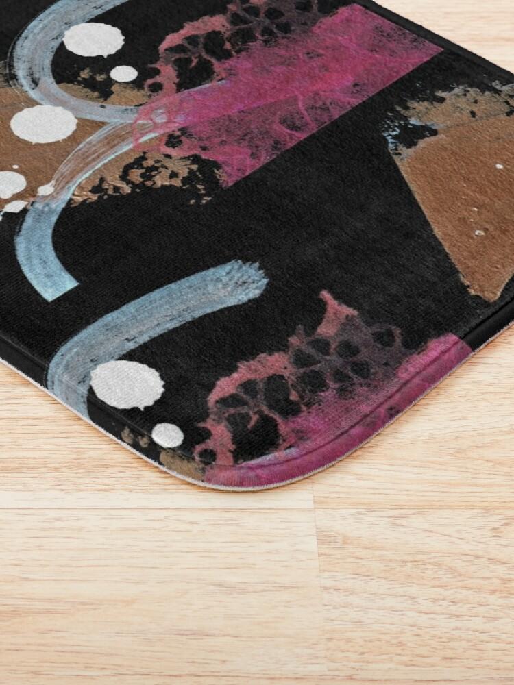 Alternate view of Pink Shadow II Bath Mat