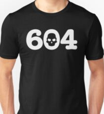 604 Skull - Lower Unisex T-Shirt