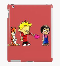 Calvin Hobbes Love iPad Case/Skin