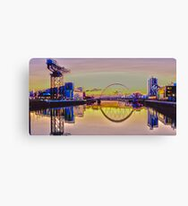 Psychedelic Squinty Canvas Print