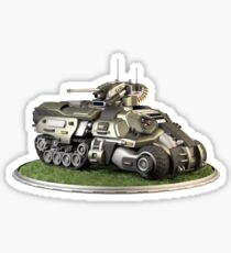 Futuristic Armoured Personnel Carrier Sticker