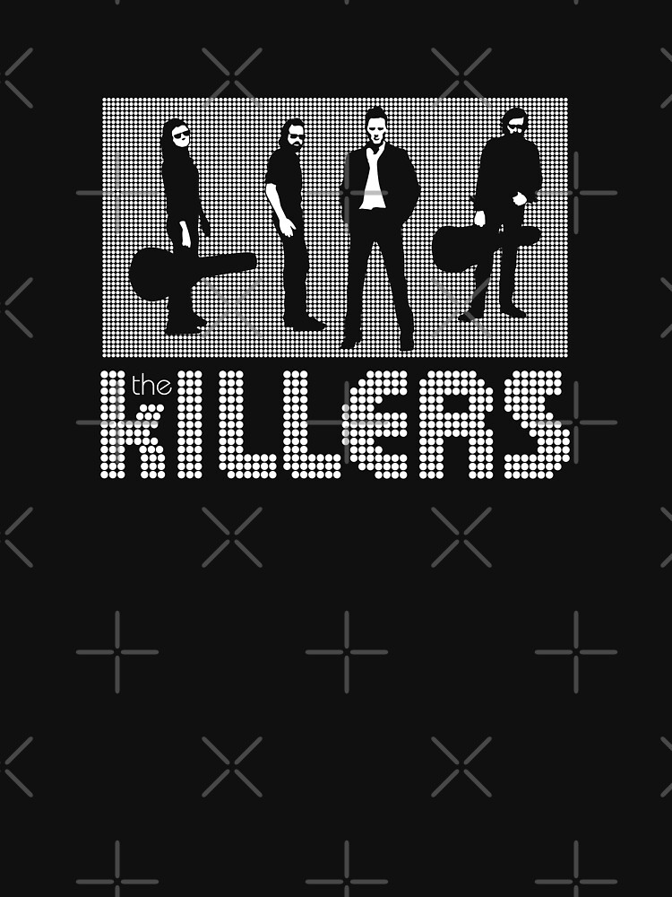 The Killers white by LapinMagnetik