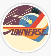 Mr. Universe Sticker
