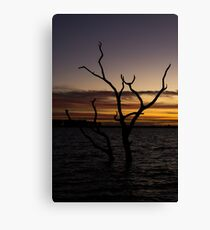 Taylors Lake - Sunset Canvas Print
