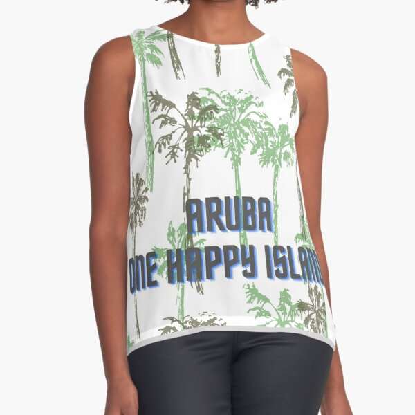 Aruba, one happy Island Sleeveless Top