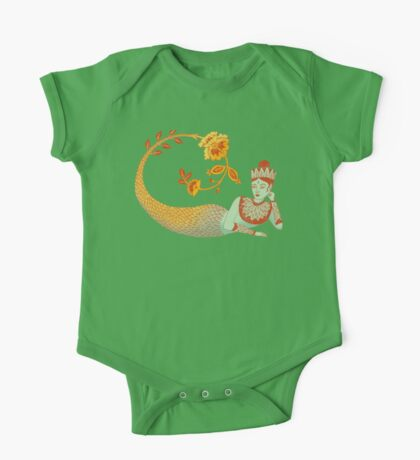 Flower Devi Green Goddess Kids Clothes