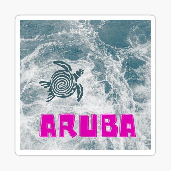 Aruba, one happy Island Sticker