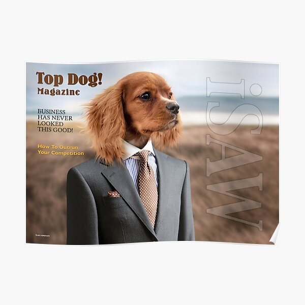 Top Dog Magazine Poster
