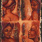 Sienna Expressions of a Woman by Alga Washington