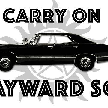 Carry on Wayward Son  by Mellyrose