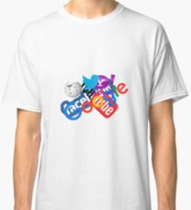 Internet Stuff | Google | YouTube | Yahoo | Wikipedia | Twitter | Facebook | Geek Stuff Classic T-Shirt