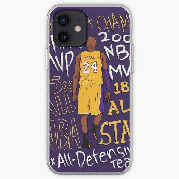 Kobe Bean Bryant Art iPhone Soft Case