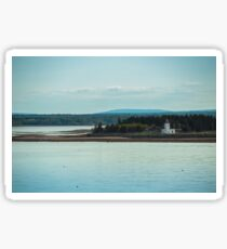 Nova Scotia Lighthouse Oceanscape and Landscape Sticker