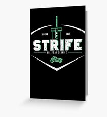 Strife Delivery Service Greeting Card