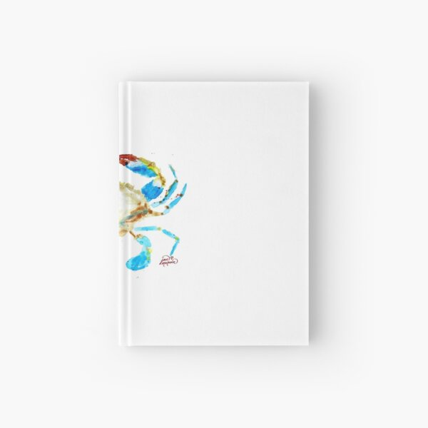 Blue Crab without splats by Jan Marvin Hardcover Journal