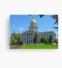 Capitol Building, Denver, Colorado, USA Canvas Print