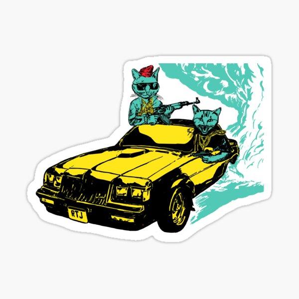 run the jewels - run T-Shirt Sticker