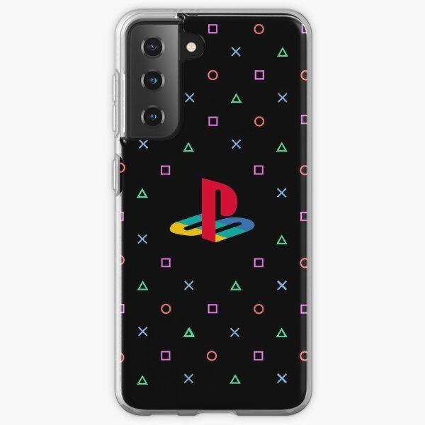 PlayStation Pattern Samsung Galaxy Soft Case