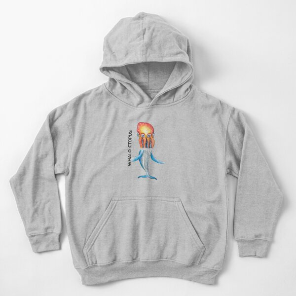 WHALO CTOPUS by FrankenDuo Kids Pullover Hoodie
