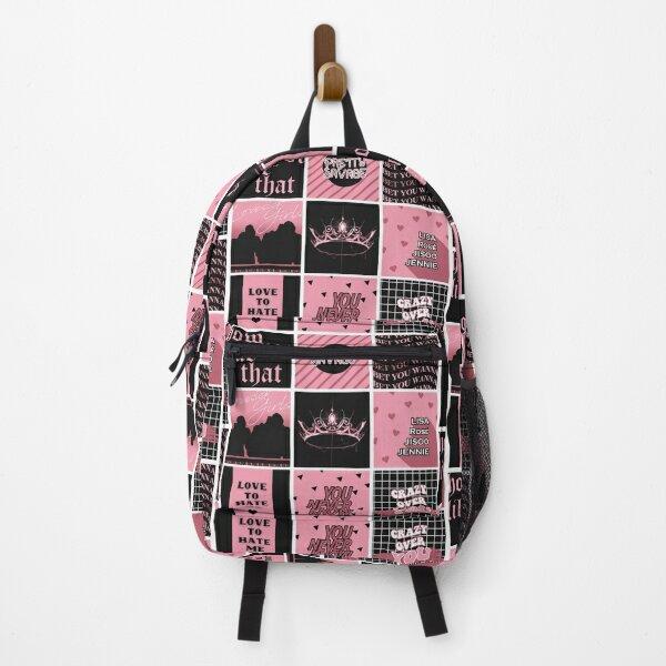 BLACKPINK - THE ALBUM Pattern Backpack