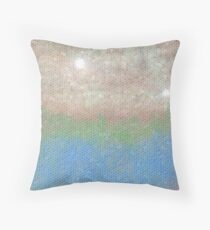 Willow Wattle Lake  Throw Pillow