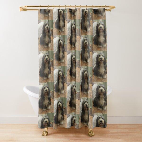 Bearded Collie - Good Boy Beardie Shower Curtain