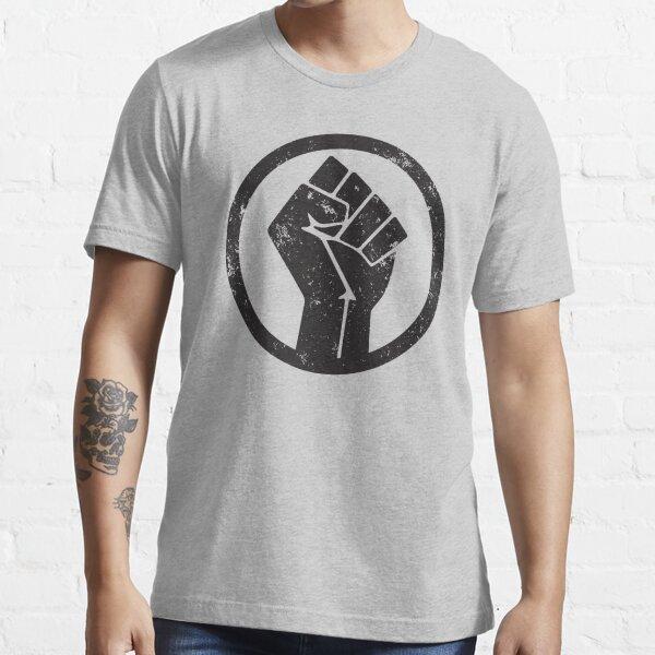 BLACK POWER RAISED FIST Essential T-Shirt